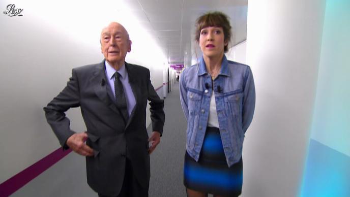 Daphné Burki dans le Grand Journal de Canal Plus. Diffusé à la télévision le 14/11/12.