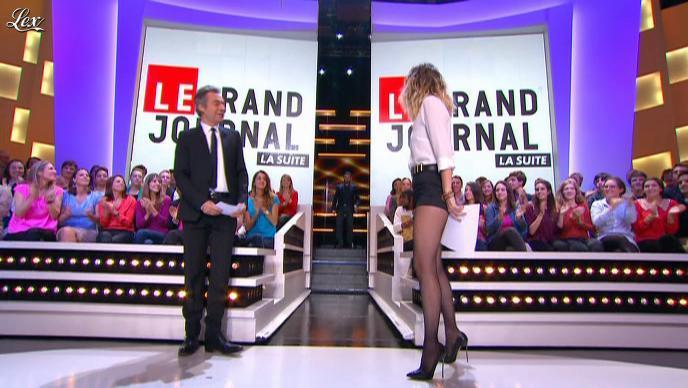 Daphné Burki dans le Grand Journal de Canal Plus. Diffusé à la télévision le 26/10/12.