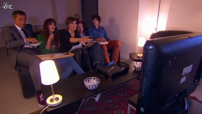 Daphné Burki dans le Grand Journal de Canal Plus. Diffusé à la télévision le 30/08/12.