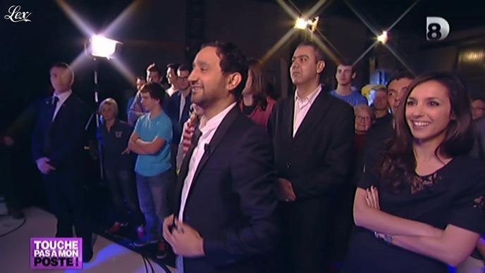 Elise Chassaing dans Touche pas à Mon Poste. Diffusé à la télévision le 01/11/12.