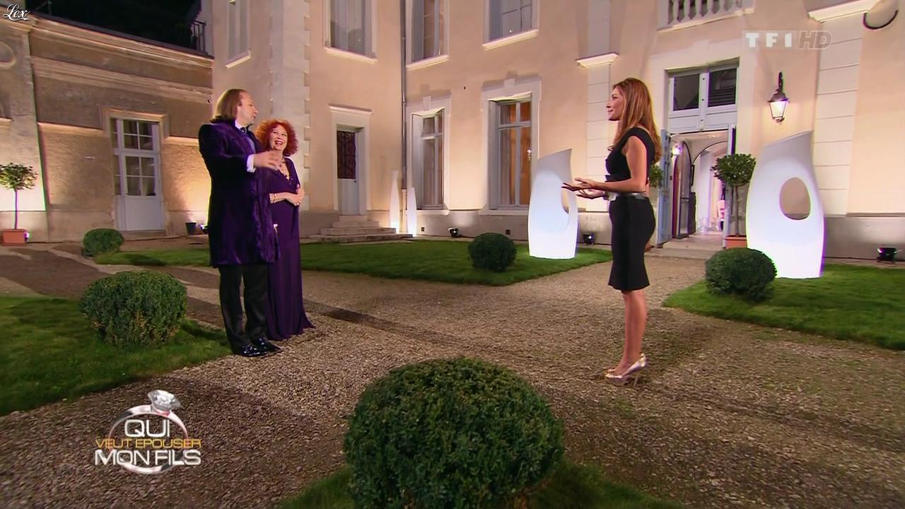 Elsa Fayer dans Qui Veut Epouser Mon Fils. Diffusé à la télévision le 02/11/12.
