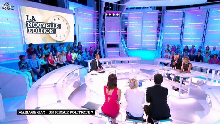 Emilie Besse dans la Nouvelle Edition. Diffusé à la télévision le 11/09/12.