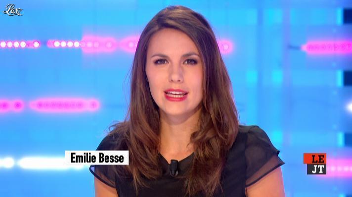 Emilie Besse dans la Nouvelle Edition. Diffusé à la télévision le 12/09/12.
