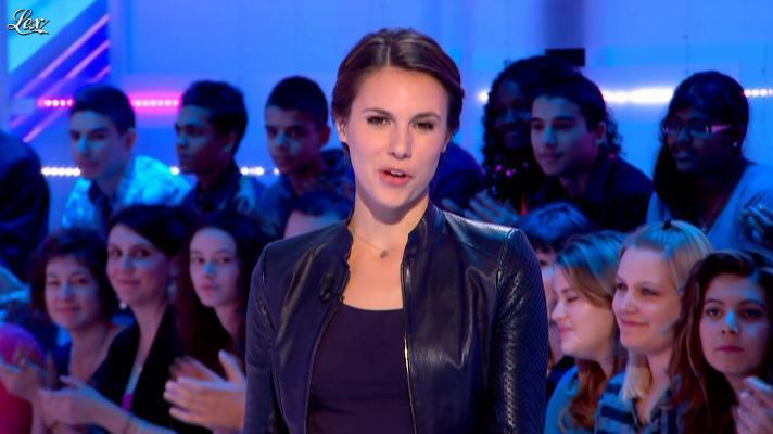 Emilie Besse dans la Nouvelle Edition. Diffusé à la télévision le 22/10/12.