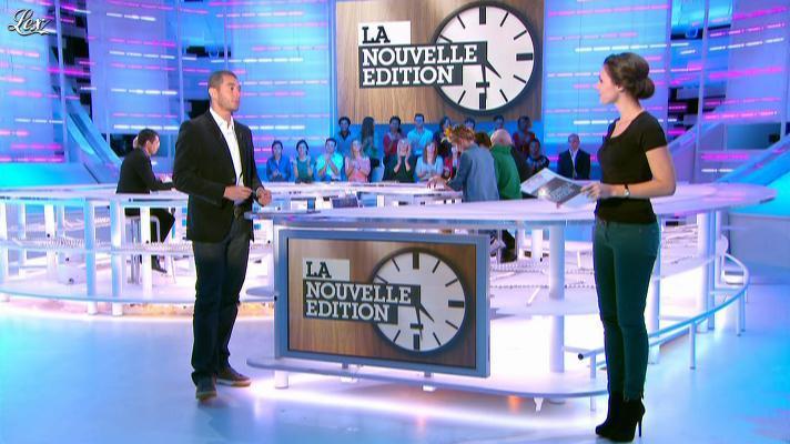Emilie Besse dans la Nouvelle Edition. Diffusé à la télévision le 25/10/12.
