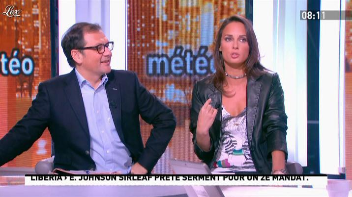 Julia Vignali dans la Matinale. Diffusé à la télévision le 17/01/12.