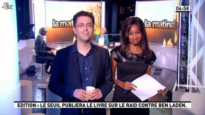 Kady Adoum-Douass dans la Matinale. Diffusé à la télévision le 03/09/12.