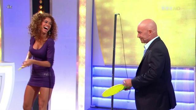 Doris Rouesne dans le Juste Prix. Diffusé à la télévision le 11/09/12.