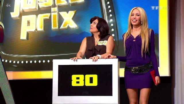 Nadia Aydanne dans le Juste Prix. Diffusé à la télévision le 11/09/12.