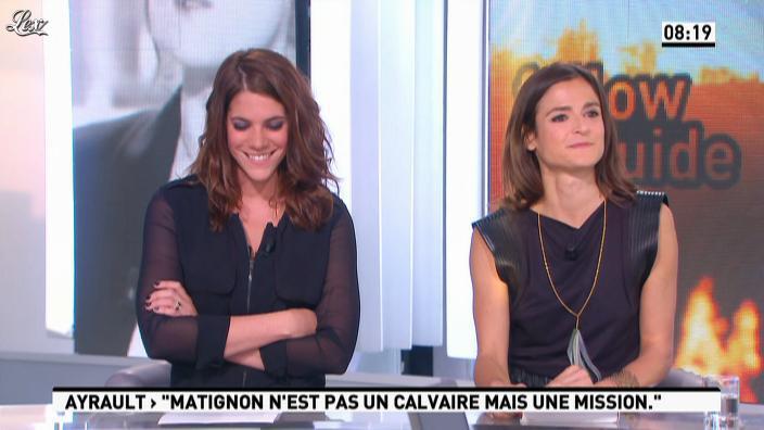 Marie Audran dans la Matinale. Diffusé à la télévision le 28/09/12.