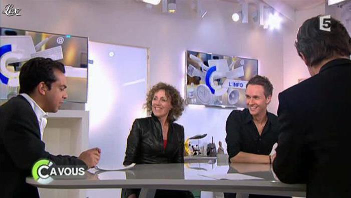 Mireille Dumas dans C à Vous. Diffusé à la télévision le 23/05/12.