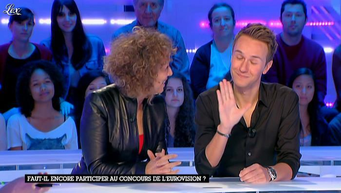 Mireille Dumas dans la Nouvelle Edition. Diffusé à la télévision le 23/05/12.