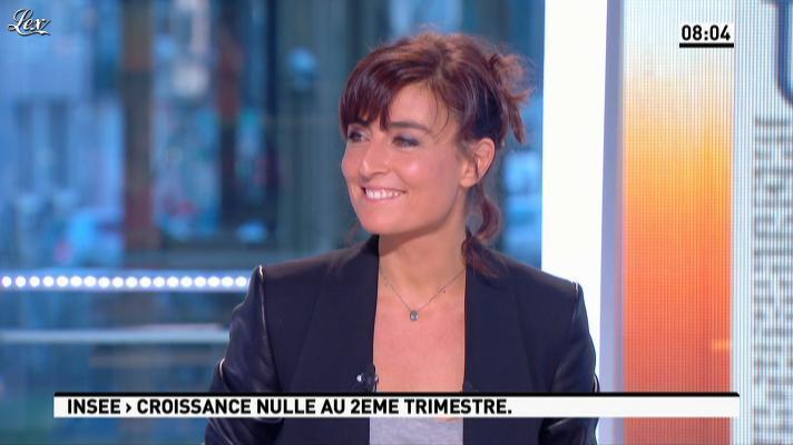 Nathalie Iannetta dans la Matinale. Diffusé à la télévision le 28/09/12.