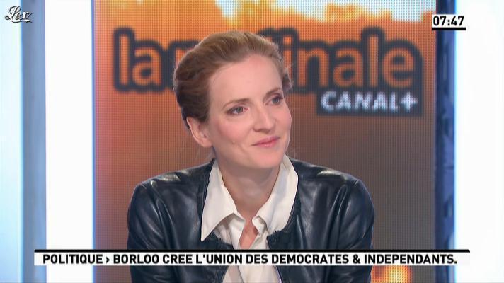 Nathalie Kosciusko-Morizet dans la Matinale. Diffusé à la télévision le 19/09/12.