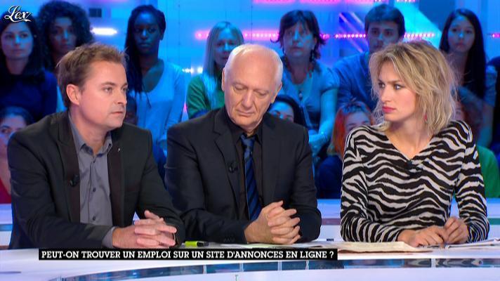 Pauline Lefèvre dans la Nouvelle Edition. Diffusé à la télévision le 26/09/12.