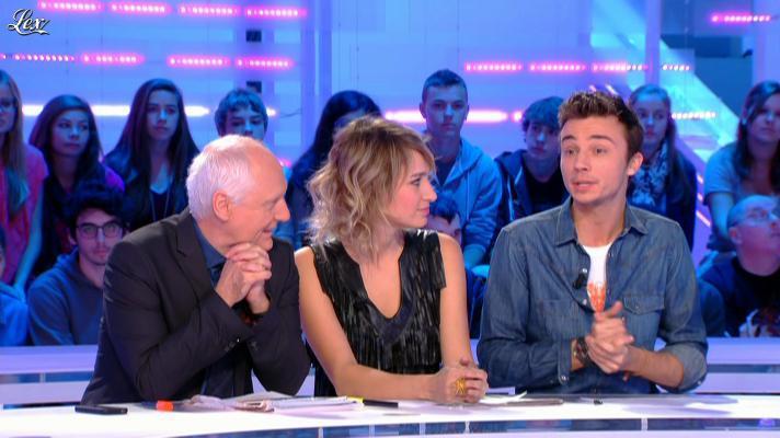 Pauline Lefèvre dans la Nouvelle Edition. Diffusé à la télévision le 29/10/12.