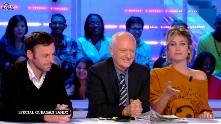 Pauline Lefèvre dans la Nouvelle Edition. Diffusé à la télévision le 30/10/12.