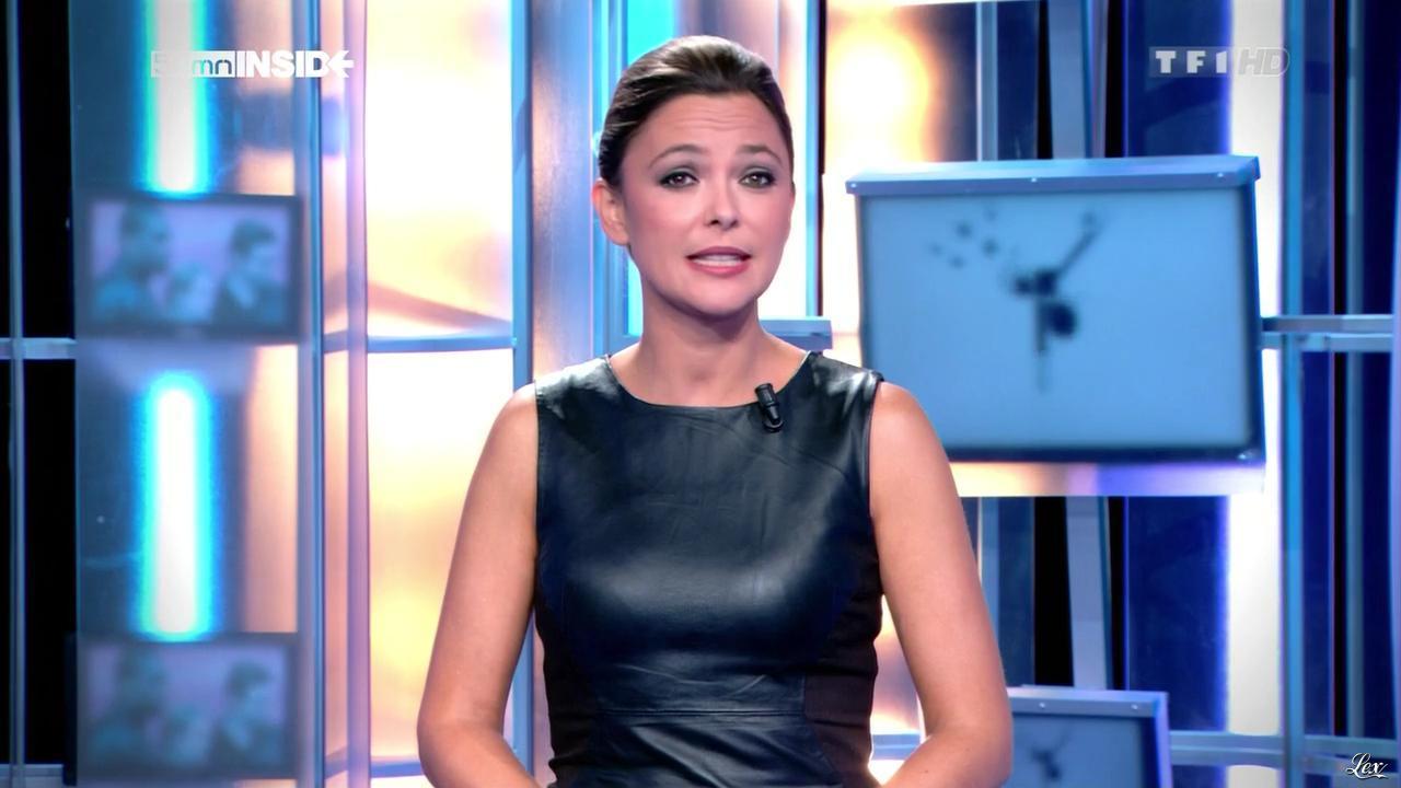 Sandrine Quétier dans 50 Minutes Inside. Diffusé à la télévision le 15/09/12.