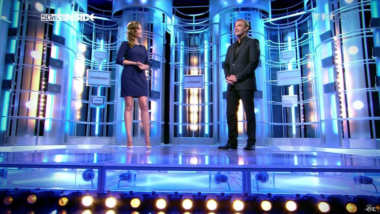 Sandrine Quétier dans 50 Minutes Inside. Diffusé à la télévision le 22/09/12.