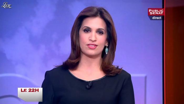 Sonia Mabrouk dans le 22h. Diffusé à la télévision le 13/11/12.