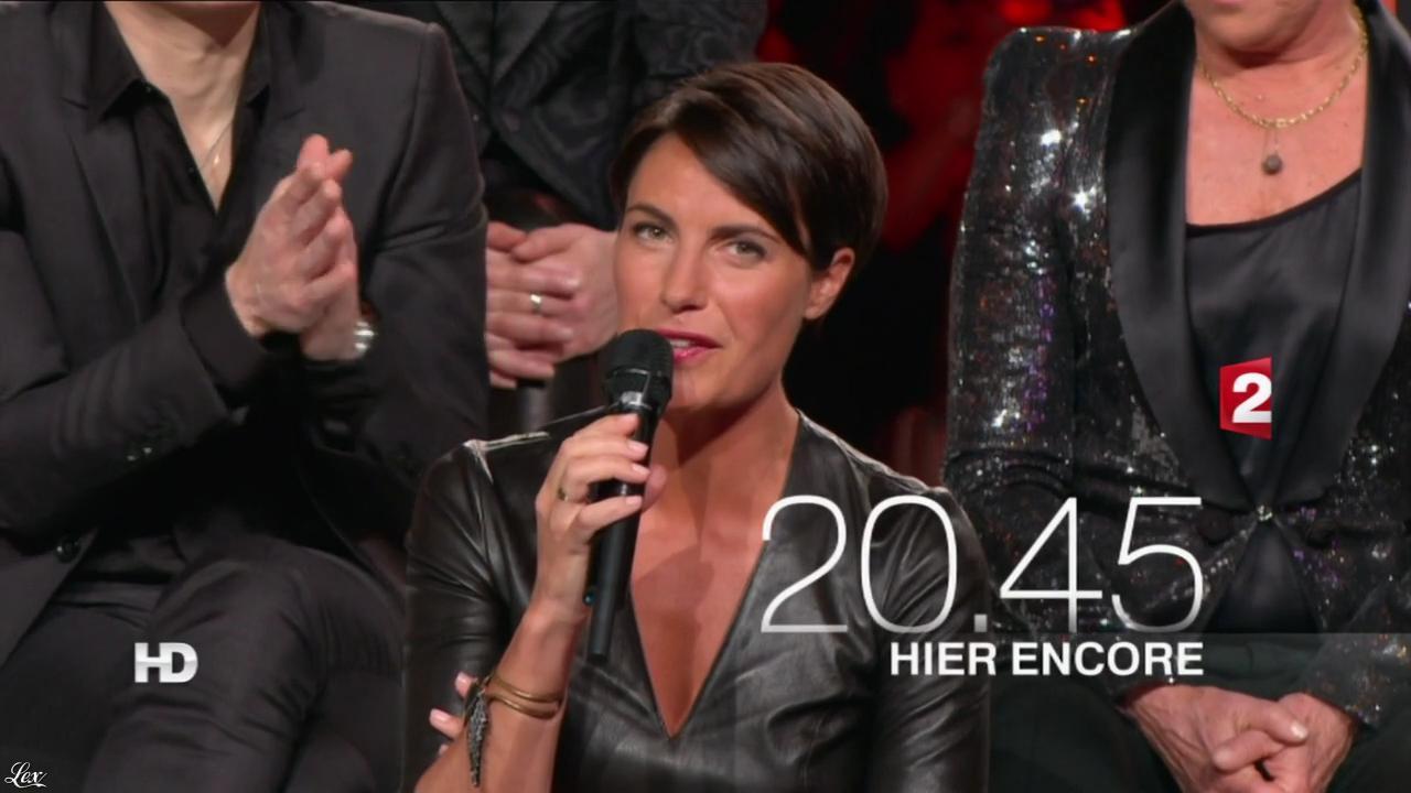 Alessandra Sublet dans une Bande-Annonce pour Hier Encore. Diffusé à la télévision le 02/03/13.