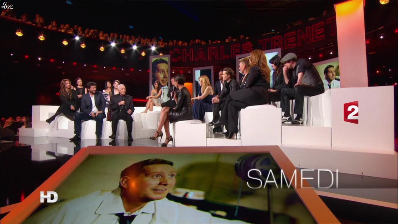 Alessandra Sublet dans une Bande-Annonce pour Hier Encore. Diffusé à la télévision le 25/02/13.