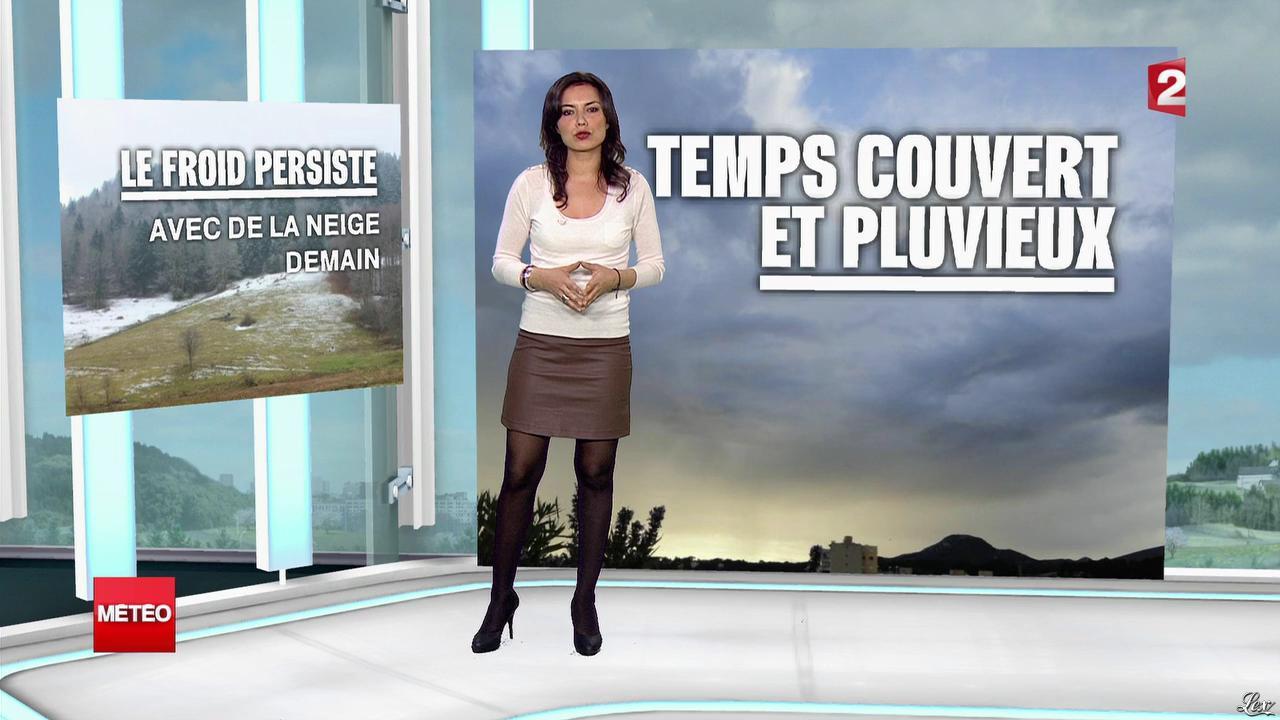 Anaïs Baydemir à la Météo. Diffusé à la télévision le 04/04/13.