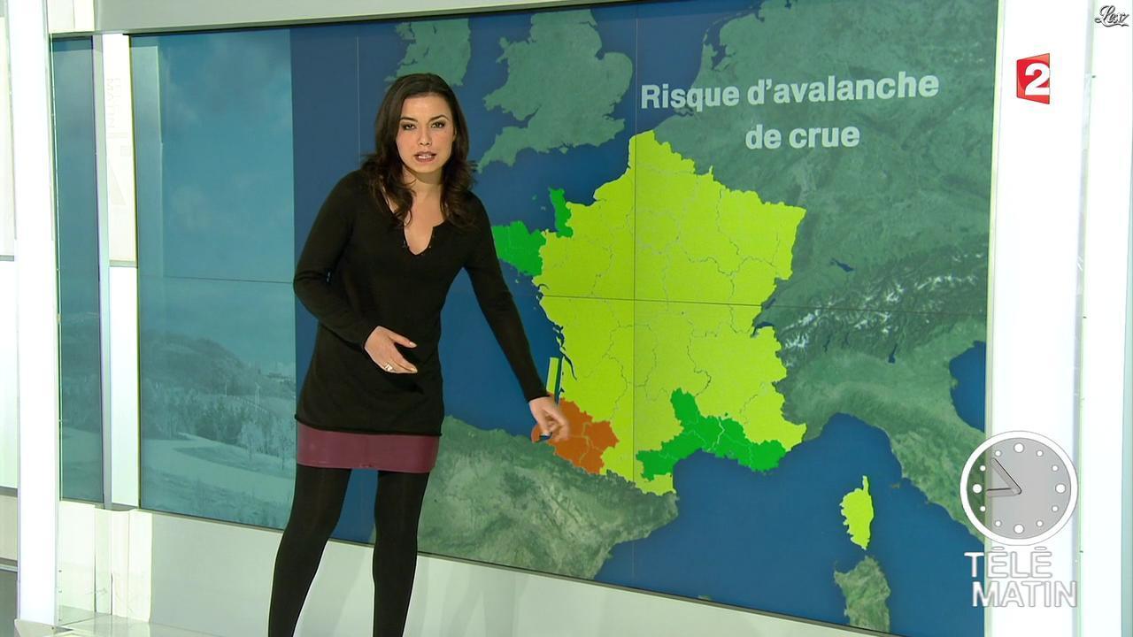 Anaïs Baydemir dans Télématin. Diffusé à la télévision le 12/02/13.