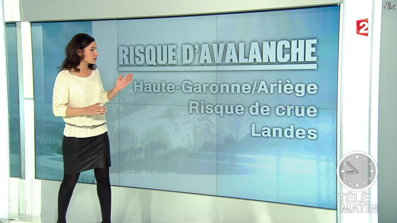 Anaïs Baydemir dans Télématin. Diffusé à la télévision le 14/02/13.