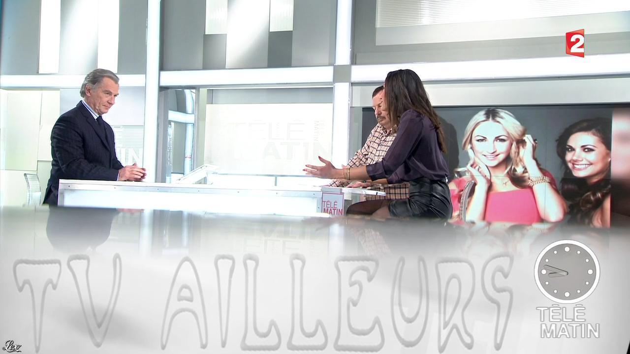 Anissa Arfaoui dans Télématin. Diffusé à la télévision le 21/02/13.