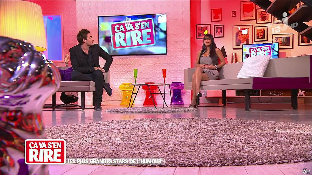 Ayem dans Ça va s en Rire. Diffusé à la télévision le 14/12/13.