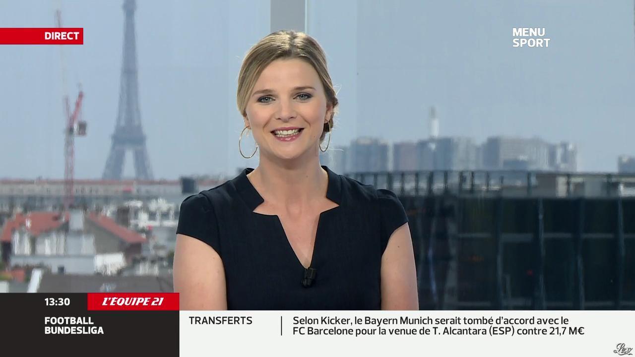 France Pierron dans Menu Sport. Diffusé à la télévision le 12/07/13.
