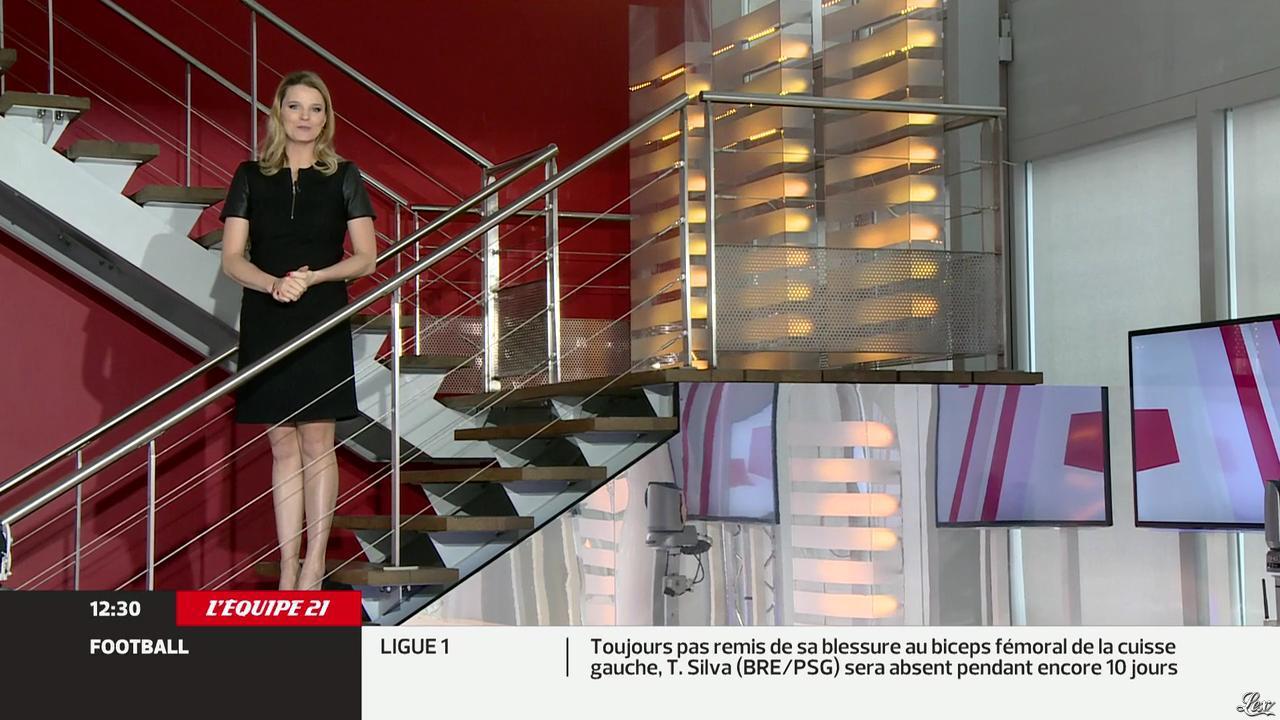 France Pierron dans Menu Sport. Diffusé à la télévision le 14/02/13.