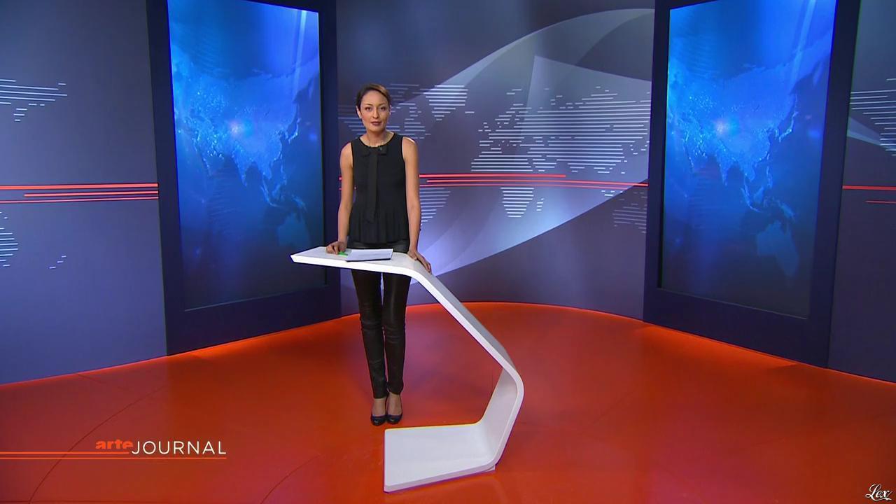Leïla Kaddour Boudadi dans le Journal d'Arte. Diffusé à la télévision le 27/02/13.