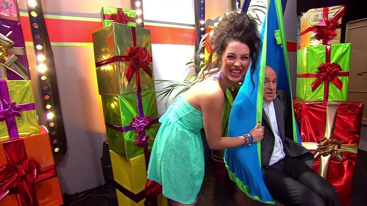 Fanny Veyrac dans le Juste Prix. Diffusé à la télévision le 04/03/13.