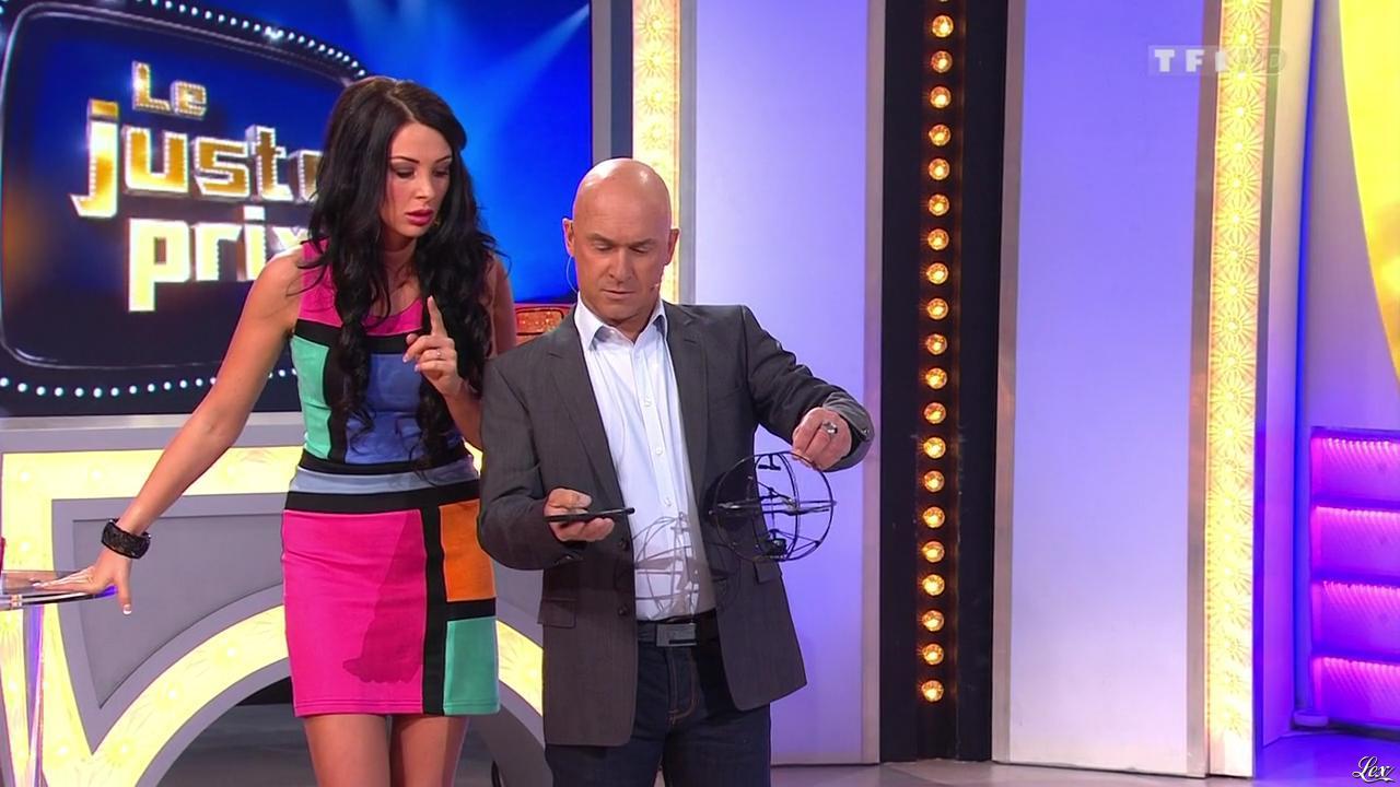 Fanny Veyrac dans le Juste Prix. Diffusé à la télévision le 07/01/13.