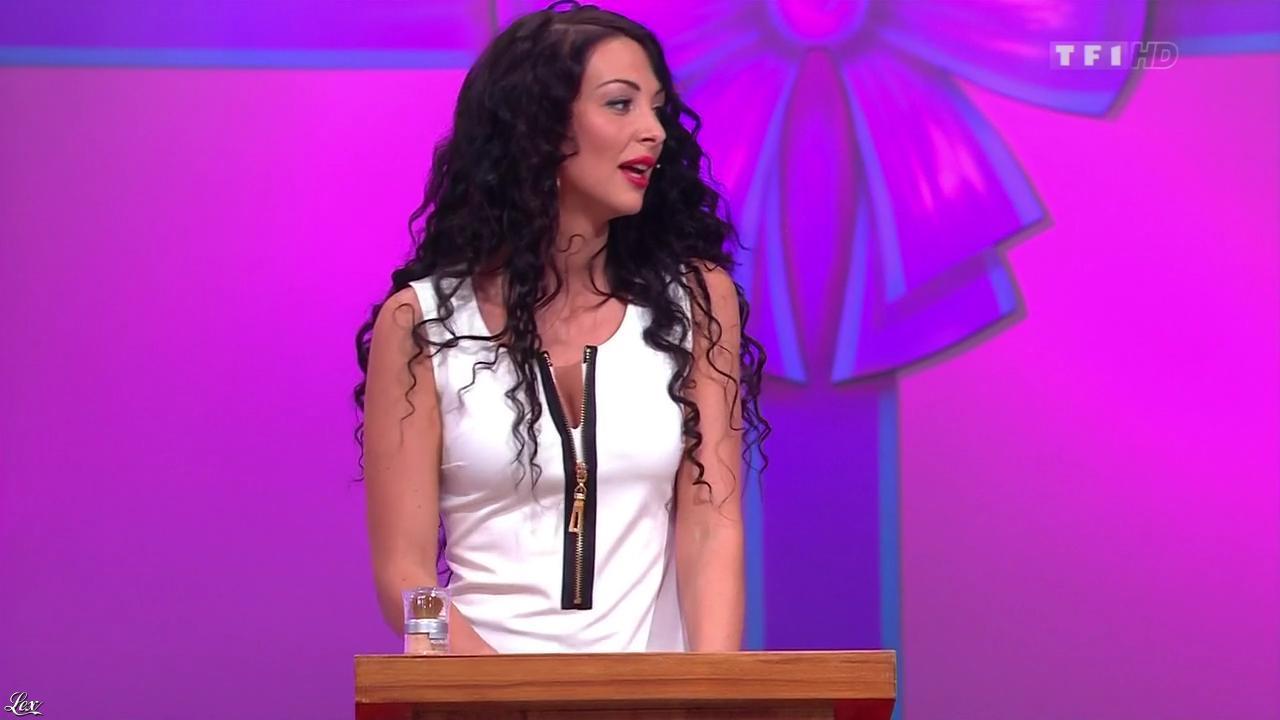 Fanny Veyrac dans le Juste Prix. Diffusé à la télévision le 09/01/13.