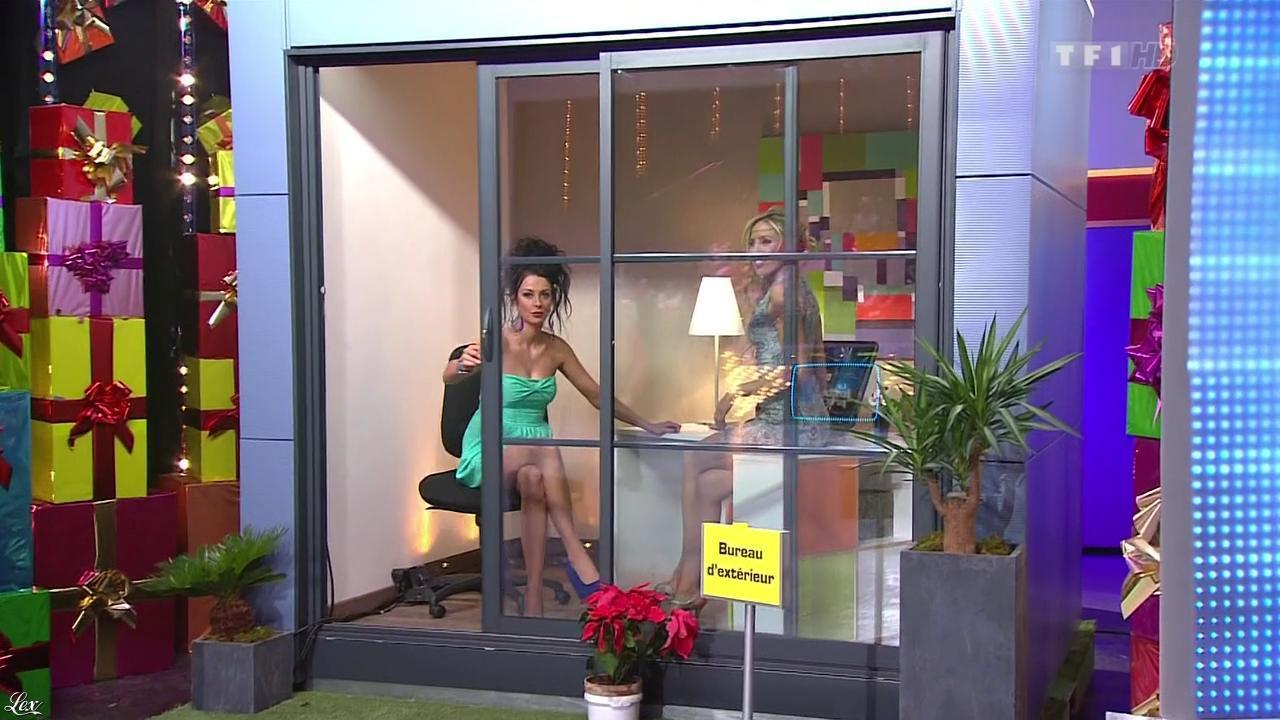 Les Gafettes, Fanny Veyrac et Nadia Aydanne dans le Juste Prix. Diffusé à la télévision le 04/03/13.