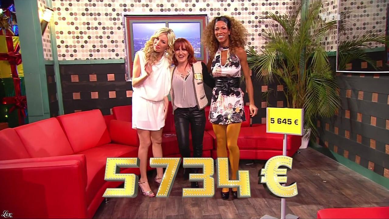 Les Gafettes, Inconnue, Doris Rouesne et Nadia Aydanne dans le Juste Prix. Diffusé à la télévision le 04/02/13.