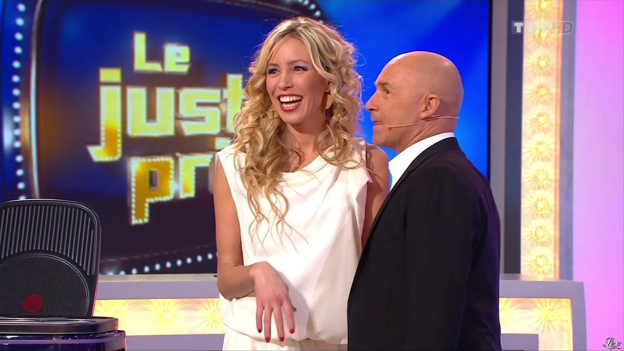 Nadia Aydanne dans le Juste Prix. Diffusé à la télévision le 04/02/13.