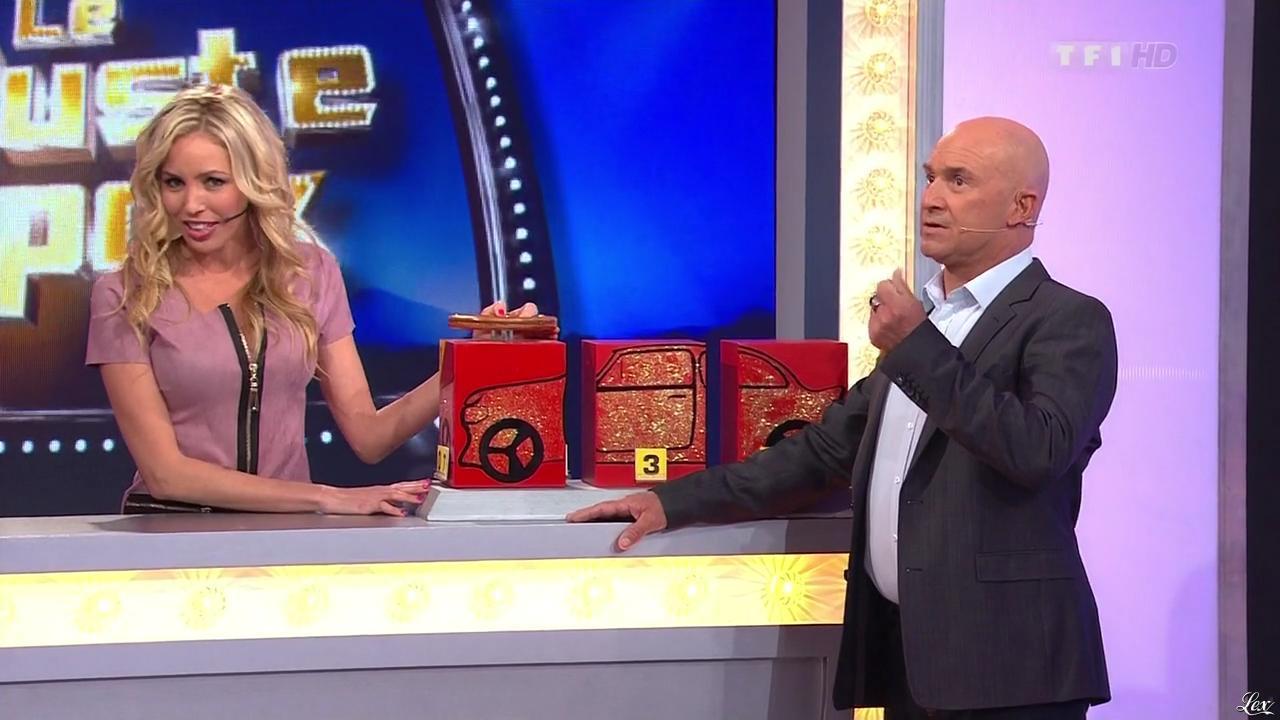 Nadia Aydanne dans le Juste Prix. Diffusé à la télévision le 07/01/13.
