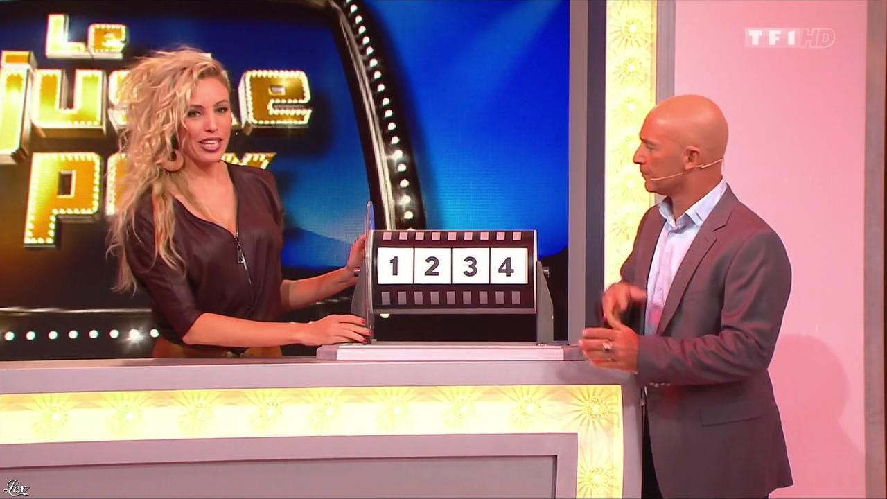 Nadia Aydanne dans le Juste Prix. Diffusé à la télévision le 07/11/13.