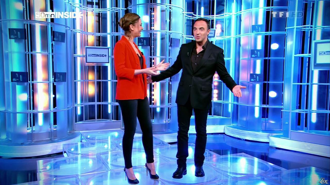 Sandrine Quétier dans 50 Minutes Inside. Diffusé à la télévision le 20/04/13.