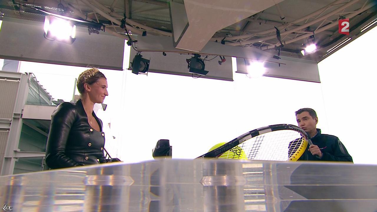 Tatiana Golovin dans Roland Garros. Diffusé à la télévision le 31/05/13.