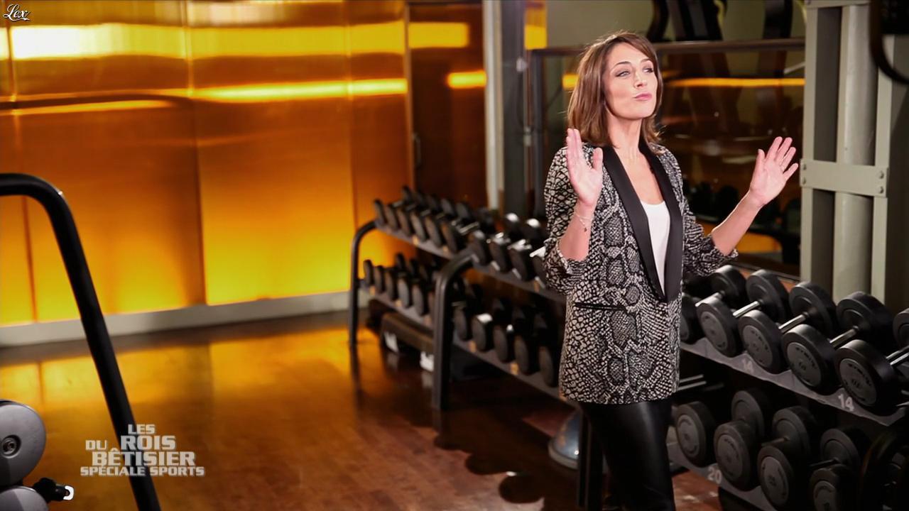 Virginie Guilhaume dans les Rois du Bêtisier. Diffusé à la télévision le 24/02/13.