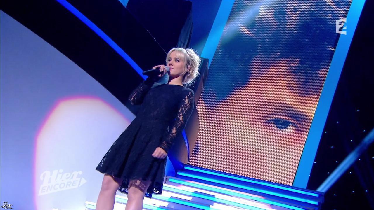 Alizée dans Hier Encore. Diffusé à la télévision le 27/09/14.