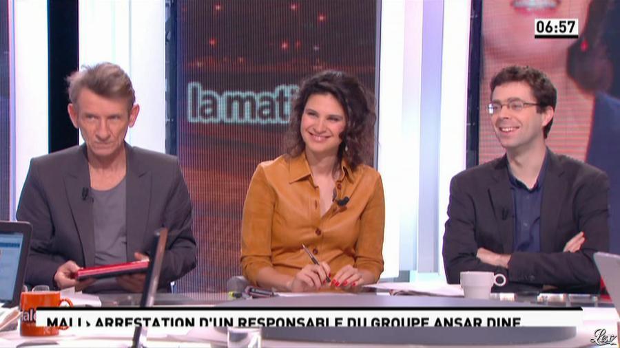 Apolline De Malherbe dans la Matinale. Diffusé à la télévision le 04/02/13.
