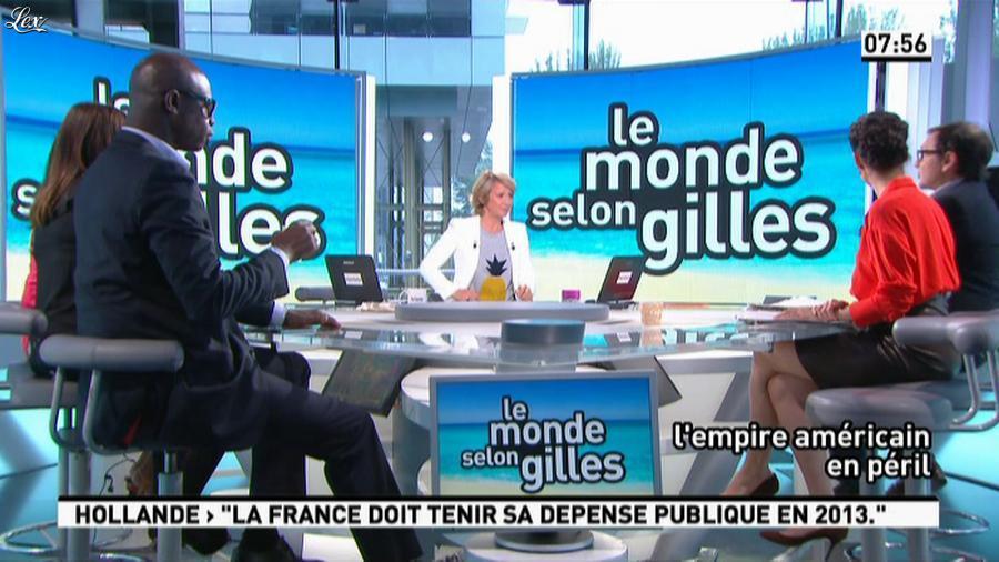 Apolline De Malherbe dans la Matinale. Diffusé à la télévision le 28/06/13.
