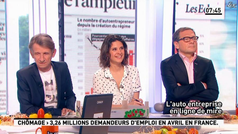 Apolline De Malherbe dans la Matinale. Diffusé à la télévision le 31/05/13.