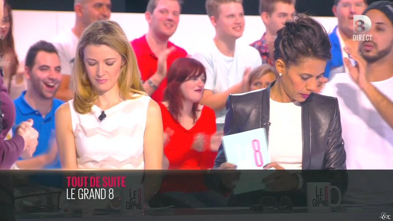 Audrey Pulvar dans une Bande-Annonce du Grand 8. Diffusé à la télévision le 01/10/14.